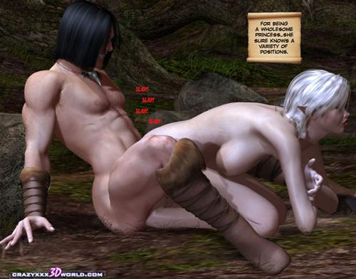 Порно 3д куноичи